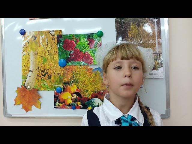 Изображение предпросмотра прочтения – ЕлизаветаУсачева читает произведение «Осень.» И.С.Тургенева