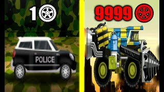 MAX LEVEL ZOMBIE POLICE CAR EVOLUTION! Smash Police Car Unlimited Gold HACK! MAX LEVEL POLICE CAR