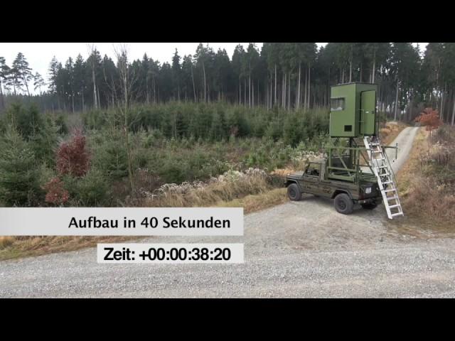 MobiJagd - Die neue Pickup Kanzel!