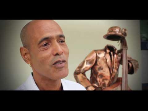 """Musician of Contra Bass"". Octavio Cuéllar"