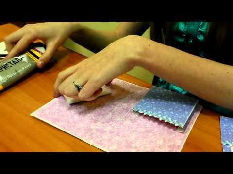 видео: Мастер- класс: открытка