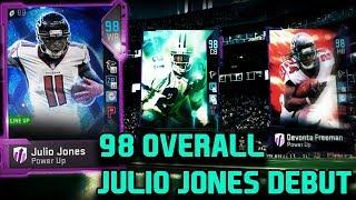 98 OVERALL GHOST JULIO JONES DEBUT   MADDEN 19 GAMEPLAY