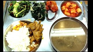9 Korean School Lunches