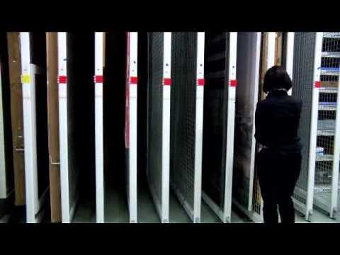 Desde dentro... Almacén de pintura Museo Guggenheim Bilbao