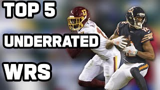 Top 5 most underrated WRs in the League