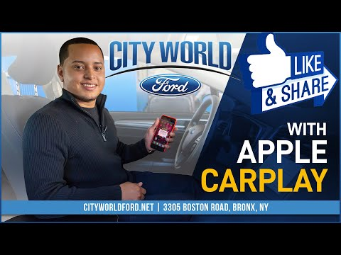 How To Use Apple Car Play 2019 Ford Fusion Hybrid | City World Ford | Bronx New York NY White Plains