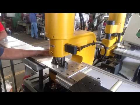 Arco Whitney Bus Bar Punching With Auto Stopper Al