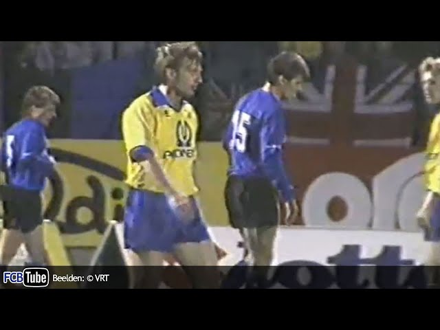 1991-1992 - Jupiler Pro League - 11. SK Beveren - Club Brugge 0-0