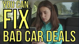 YOU CAN FIX A BAD CAR DEAL from CAR DEALERSHIPS: Auto Expert: The Homework Guy, Kevin Hunter