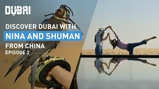 Chasing sunsets in Dubai with Nina and Shuman: Episode 2 | Visit Dubai