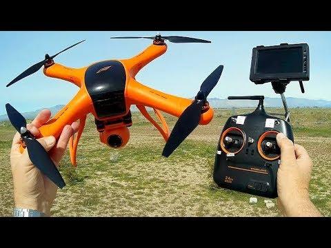 Wingsland M1 GPS Drone 2019 Version Flight Test Review