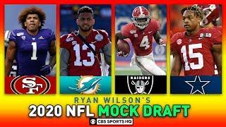 2020 NFL MOCK DRAFT Full First Round, Is Jordan Love The Next Mahomes? | CBS Sports HQ