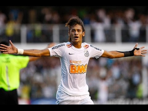 Neymar, Dribbling & Skills, Santos FC, HD - YouTube