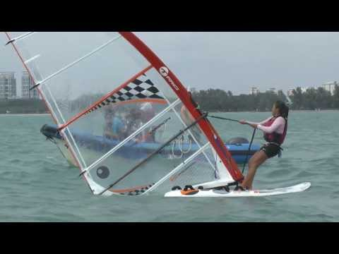 Windsurfing - Riding high on the wind