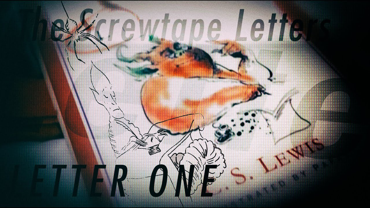 the screwtape letters letter one 1 audiobook read along narrated by caleb eubanks