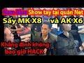 🔫PUBG MOBILE Nam Blue SHOW Tay Tại Quán Net Sấy MK X8 Và AK X6 Khẳng định KHÔNG Bao Giờ HACK ✔