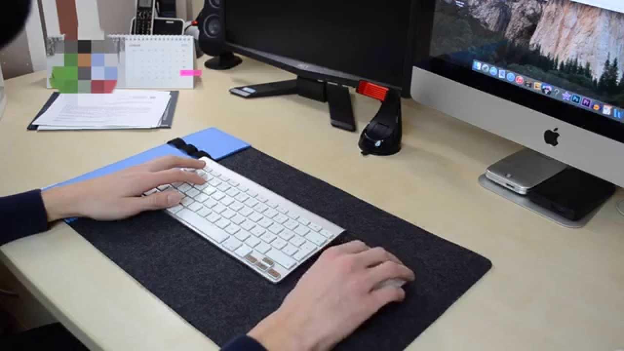 Eigengut Schreibtischunterlage Aus Filz Unboxing Youtube