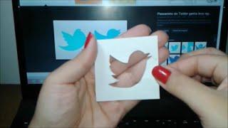 Como fazer molde em papel! Simples e fácil e rápido!