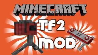 Repeat youtube video Best Minecraft Beta 1.3.2 Mods | Team Fortress 2 Teleporter & Sentry Mod by Pitman87