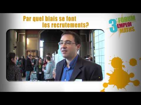 Forum Emploi Maths 3 : Les PME, des entreprises qui recrutent des mathématiciens