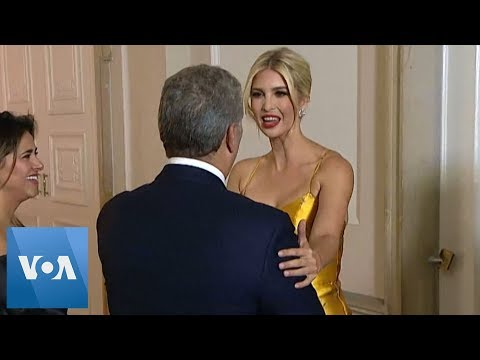 Ivanka Trump Meets Colombia President Duque