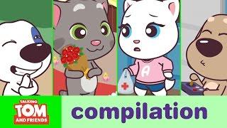 Talking Tom and Friends Minis - Episodes 9-12 Binge Compilation