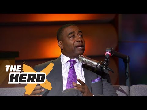 Nick Wright and Cris Carter talk Lonzo Ball and Klay Thompson to the Lakers | THE HERD