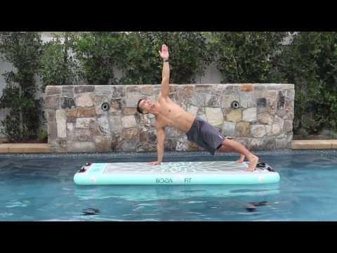 BOGAFiT high plank to reach