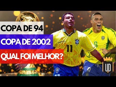 de230ef99b93e Copa de 94 ou 2002  Qual foi melhor