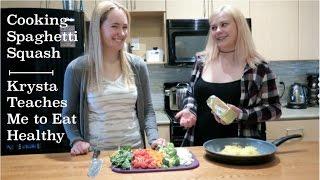 Spaghetti Squash Recipe | I learn How to Cook