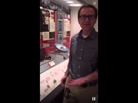 IBEW Museum Curator Curtis Bateman
