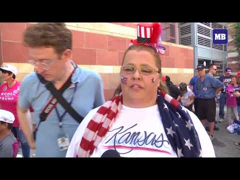 Donald Trump supporters gather for rally in Phoenix