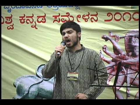 AKKA 2010 Teen Idol Runner-up Chiraag Nataraj singing
