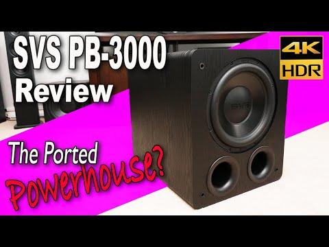 SVS PB-3000 Subwoofer Review | The Best Mid-range Subwoofer? [4K HDR]