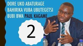 RUBANDA YAHIRIKA UBUTEGETSI BUBI BWA PKAGAME BYIHUSE. Step 2