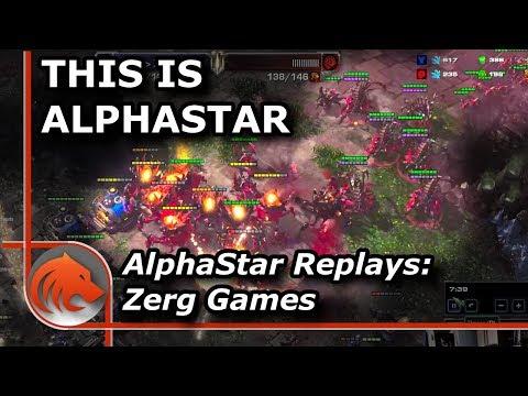 StarCraft 2: Analyzing *NEW* AlphaStar Zerg Games!