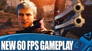 Devil May Cry 5 - New 60fps PS4 Pro Gameplay
