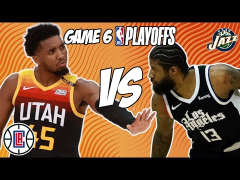 Los Angeles Clippers vs Utah Jazz Game 6 6/18/21 NBA Playoff Free NBA Pick & Prediction