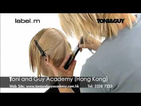 Video clip dạy cắt tóc nghệ thuật Toni&guy 2b - www.viethairhua.com
