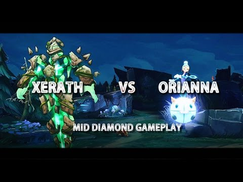 Xerath Gameplay Mute All Tilt and Flame Unleashed - League of Legends