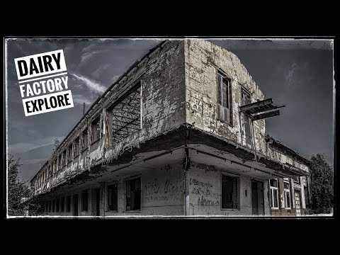DECAYED DAIRY FACTORY (Urban Exploration)