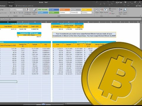 Cryptocurrency Portfolio | Part 1 - Let's track our investme