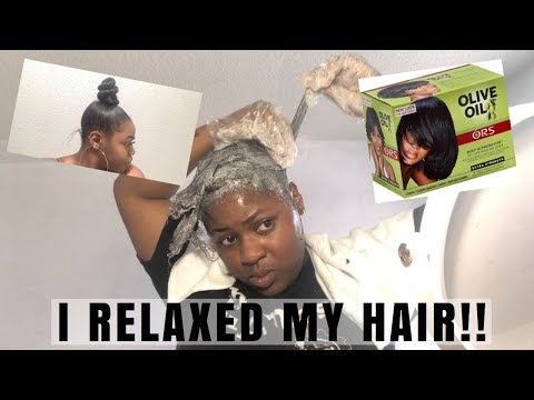 IM OVER IT I RELAXED MY NATURAL HAIR | One Year Being Natural