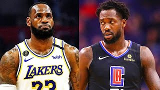 LeBron James CALLED OUT By Patrick Beverley Over NBA Return & Dwight Howard Sitting Out Season!