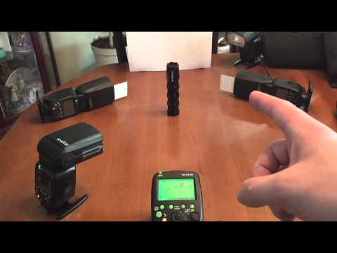 Demo: How to Use a Yongnuo Wireless Trigger with a Group of 600EX Flashes