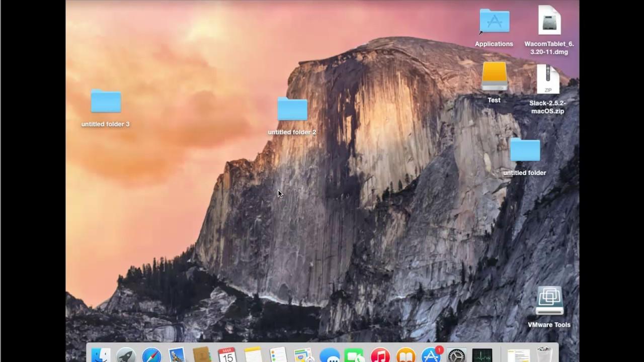 Desktop center