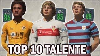 FIFA 20: DIE BESTEN 10 UNBEKANNTEN TALENTE !!   FIFA 20 Karrieremodus
