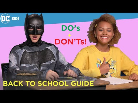 What's in my Backpack: Super Hero Edition! | Super-Fan Training | DC Kids Show