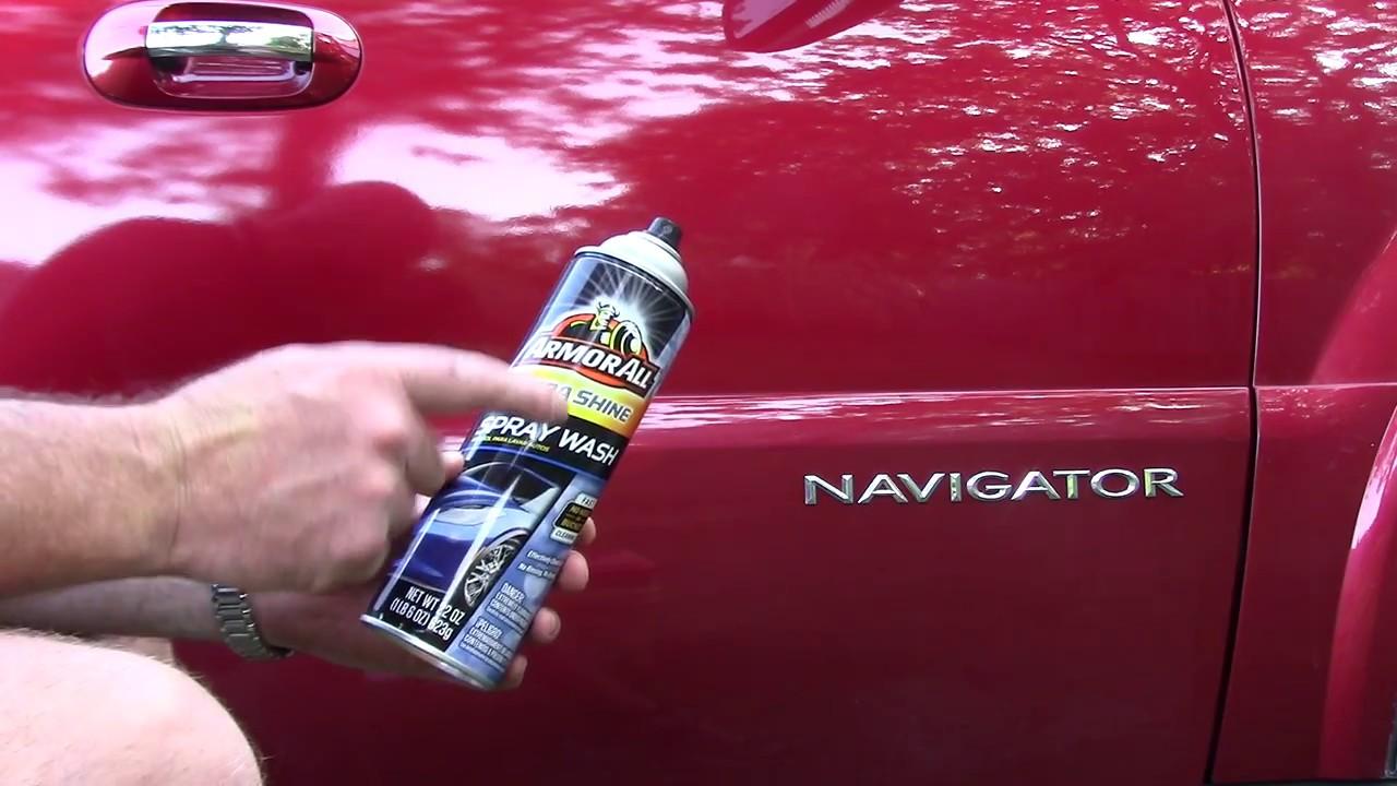 Armor All Ultra Shine Spray Wash Review YouTube - Show car ultra shine detail spray