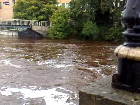 Strule River Omagh Flooded - 7th Sept '10